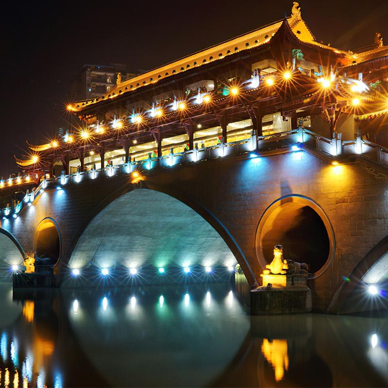 桥梁亮化3